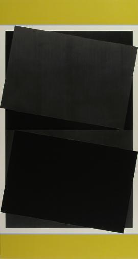 Don Voisine Tumble, 2011-12  60 X 32 in. oil/wood